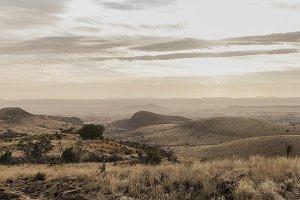 Davis Mountain Panoramic Landscape