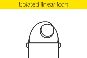 Shoulder bag icon. Vector