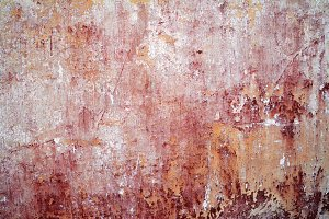 0020 Wall texturered/yellow