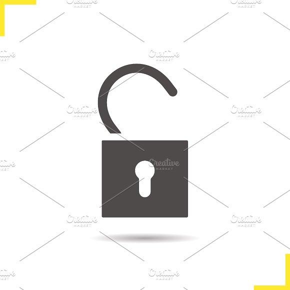 Open lock icon. Vector - Icons