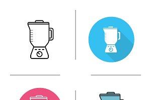 Blender icons. Vector