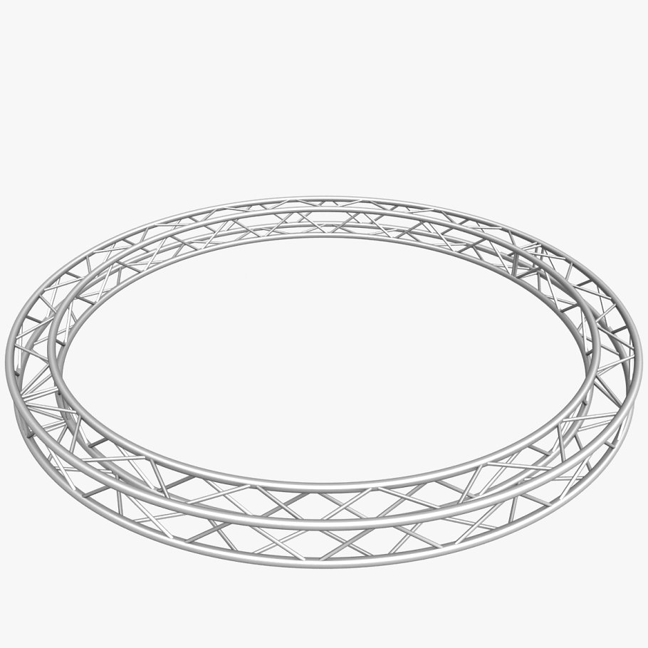 Circle Square Truss (400cm) in  - product preview 1