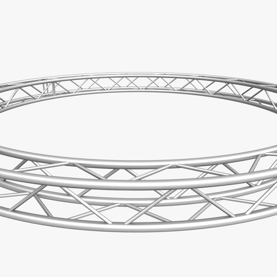 Circle Square Truss (400cm) in  - product preview 3