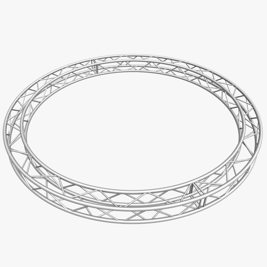 Circle Square Truss (400cm) in  - product preview 4