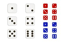 Set of dices.