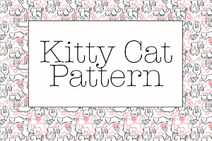 Kitty Playing Pattern