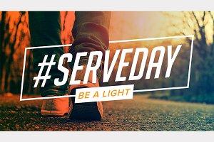 #SERVEDAY