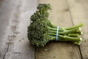 Bunch of Broccolini