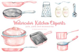 Rose Kitchen Cliparts