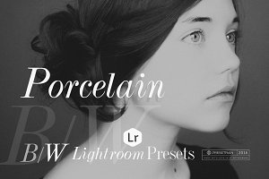 Porcelain B&W Lightroom Presets