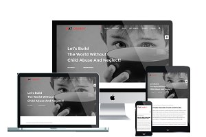 AT Charity Onepage Joomla Template