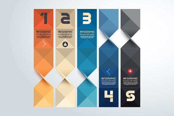 modern geometric graph design presentation templates creative market