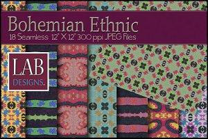 18 Bohemian Woven Fabric Textures