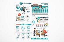Business world job template design