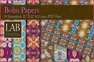 14 Bohemian Paper Textures
