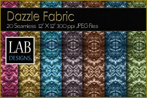 20 Dazzle Glitter Fabric Textures