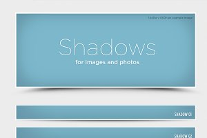 Shadows for web images and photos