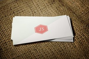Retro/Vintage Style Business Card V1