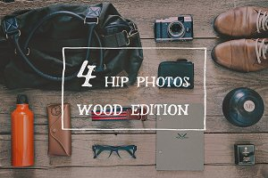 Hipster set Bundle (wood edition)