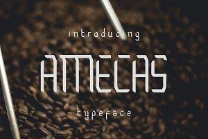 Amecas Typeface