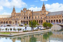 Spanish architecture, Seville.