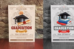 Graduation ceremony template