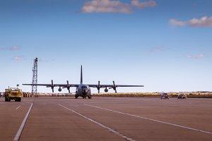 Hercules aircraft V