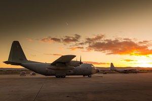 Hercules aircraft X
