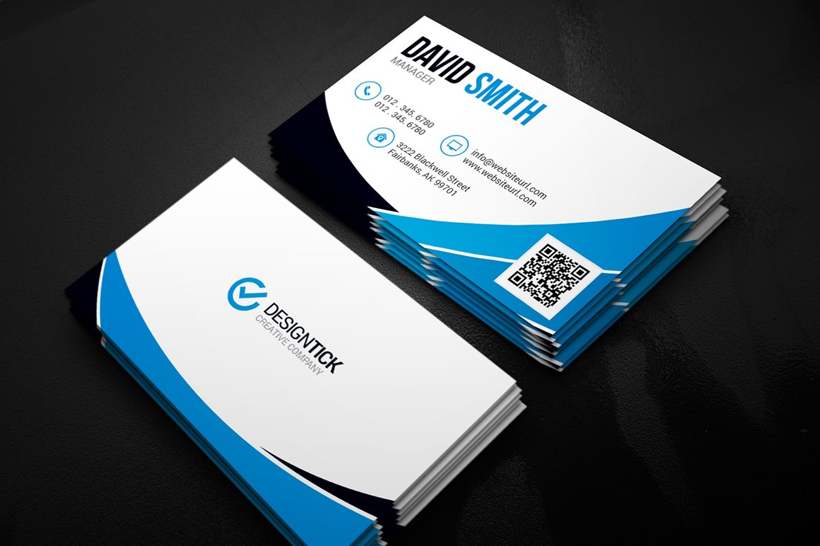 Unusual Business Card Modern Images - Business Card Ideas - etadam ...