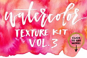 Watercolor Texture Kit Vol. 3