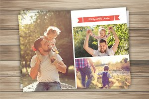 Holiday Mini Session Template-V299