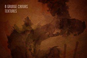 8 Grunge Canvas Textures