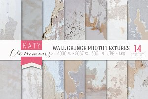 Wall Grunge 14 photographic textures