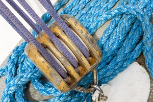 Marine ropes and ship tackle