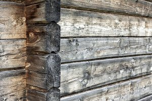 Natural wooden wall background