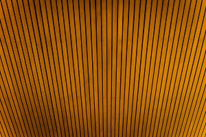 Teak wood ceiling pattern