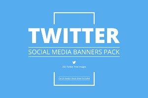 Twitter Social Media Pack