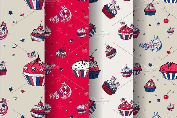July, 4th Cakes in Objects - product preview 1