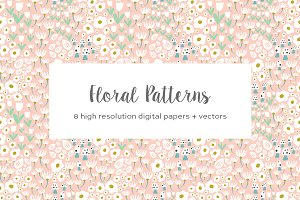 Whimsical Floral Patterns