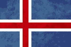 True proportions Iceland flag