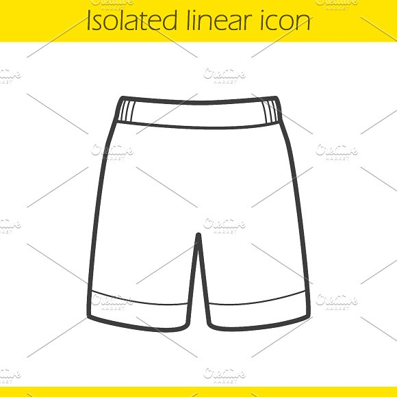 Shorts icon. Vector - Icons