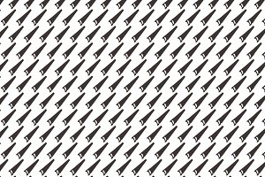 Seamless pattern  background of  saw
