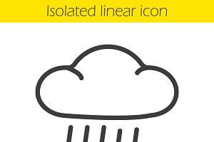 Rain icon. Vector