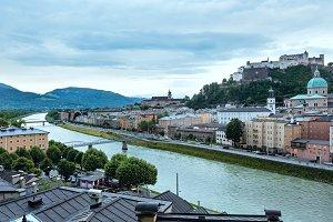 Salzburg City view, Austria