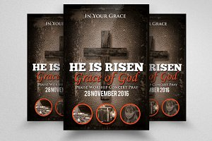 Jesus Church Prayer Flyer