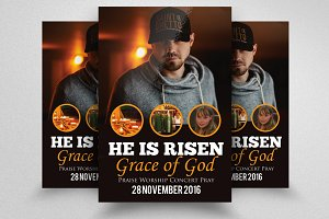 Risen Church Flyer & Poster