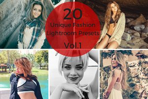 20 Unique Fashion Lightroom Presets
