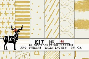 Background Paper Kit 40