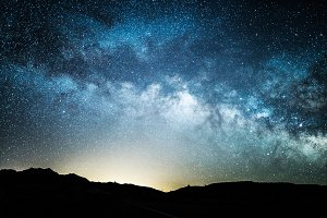 Milkway night photo