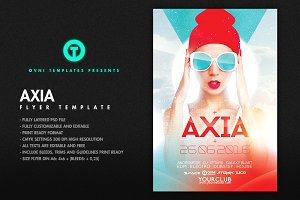 AXIA Flyer Template